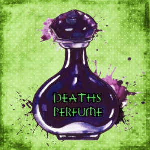 deaths perfume logo
